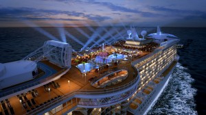 Royal Princess' Lido Deck