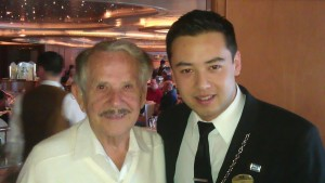 Mr. Babychuck (left) and Sommelier Thai Reznich (right).