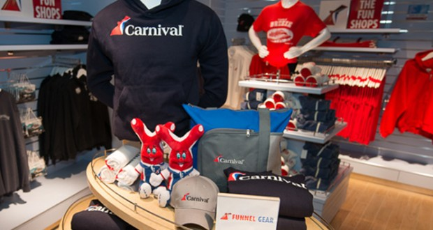 Carnival Cruise Lines Debuts 'The Fun Shops' Online