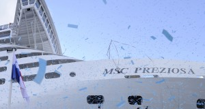 MSC Takes Delivery of MSC Preziosa in France