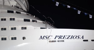 MSC Preziosa Christened In Genoa (Photos)