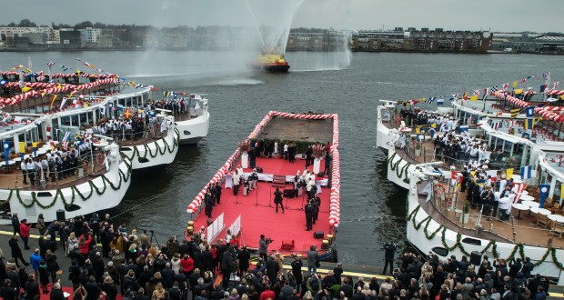 Viking River Cruises Sets World Record With 10 Christenings In 1 Day