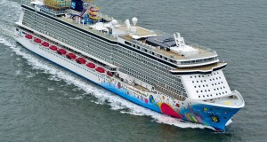 Norwegian Breakaway Enroute To New York City For Christening