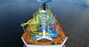 Carnival Sunshine Dry Dock: Waterworks &amp; Sportsquare (Video)