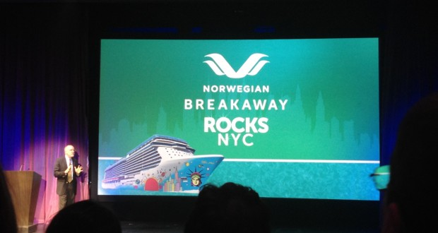 Norwegian Breakaway Christened In New York City